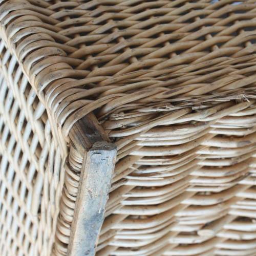Vintage French Laundry Basket - Image 8 of 8