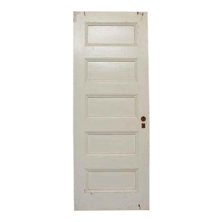 Five Panel White Doors
