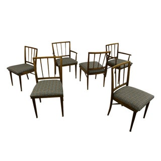 Mid-Century Modern Dining Chairs - Set of 6 For Sale