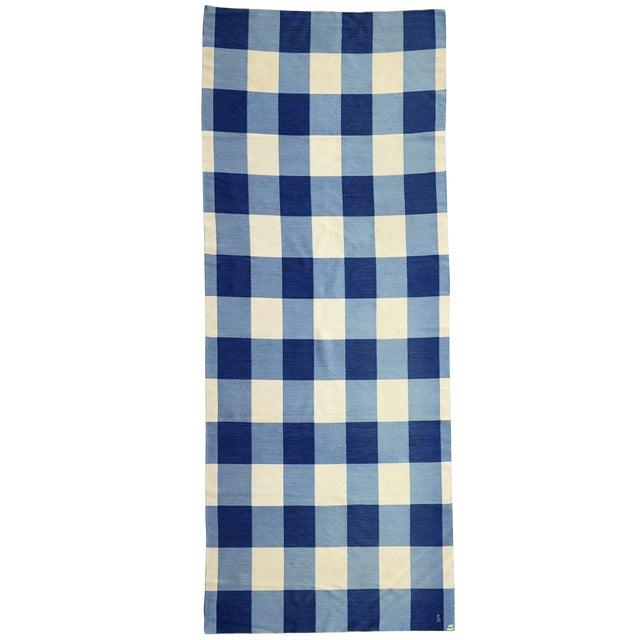 Large Swedish Rollakan Double-sided Flat-weave Carpet - Image 1 of 3