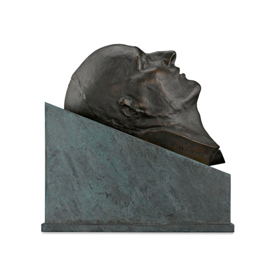 Bronze Death Mask of Napoleon i For Sale - Image 4 of 8