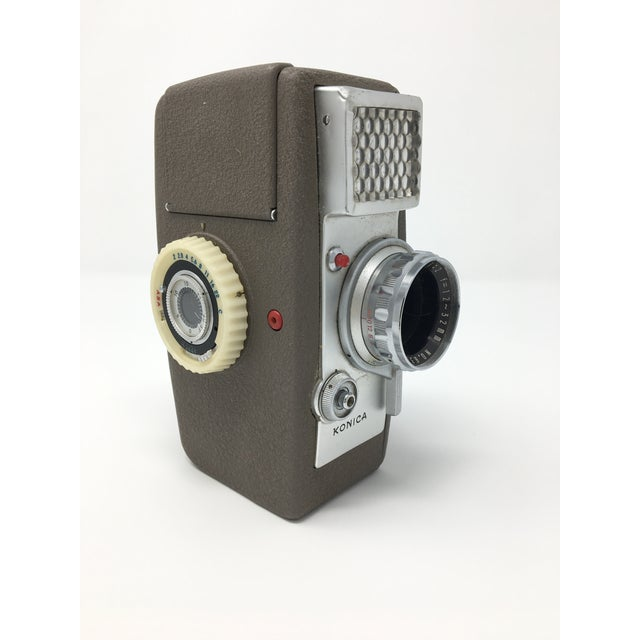 Metal Vintage Konica Zoom S II 8mm Movie Camera For Sale - Image 7 of 7
