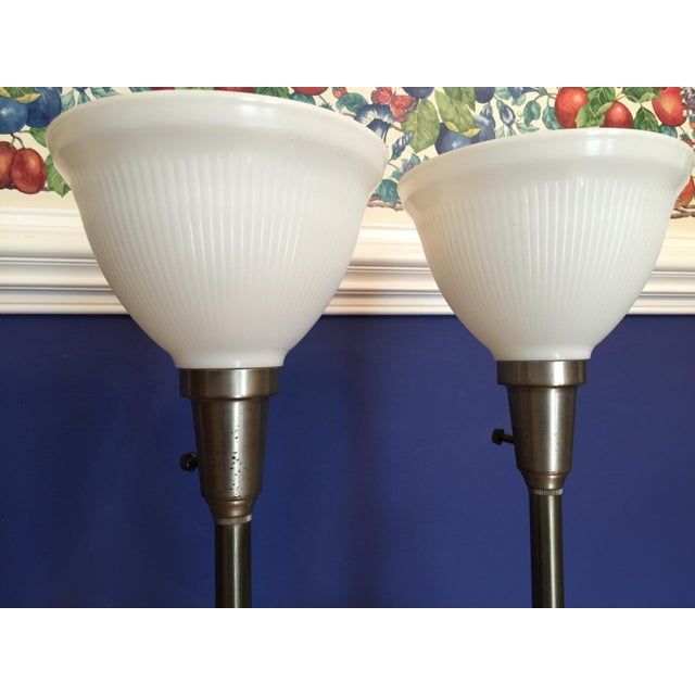 Stiffel Mid-Century Hollywood Regency Red Table Lamps, 1960s - A Pair For Sale - Image 6 of 11