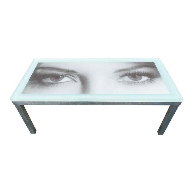 """""""Eye of the Beholder"""" Coffee Table For Sale In Los Angeles - Image 6 of 7"""
