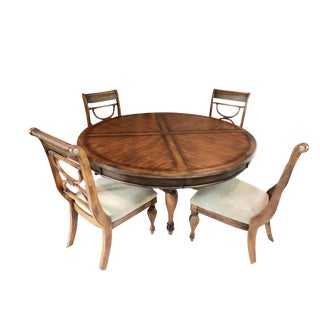 Traditional Tommy Bahama Dining Set - 5 Pieces For Sale