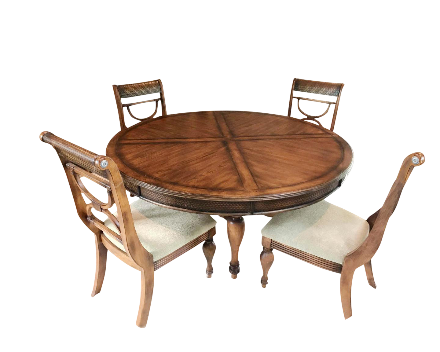 Traditional Tommy Bahama Dining Set   5 Pieces For Sale