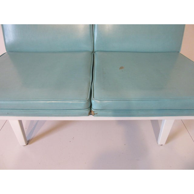 Mid 20th Century George Nelson Steelframe Sofa / Loveseat by Herman Miller For Sale - Image 5 of 9