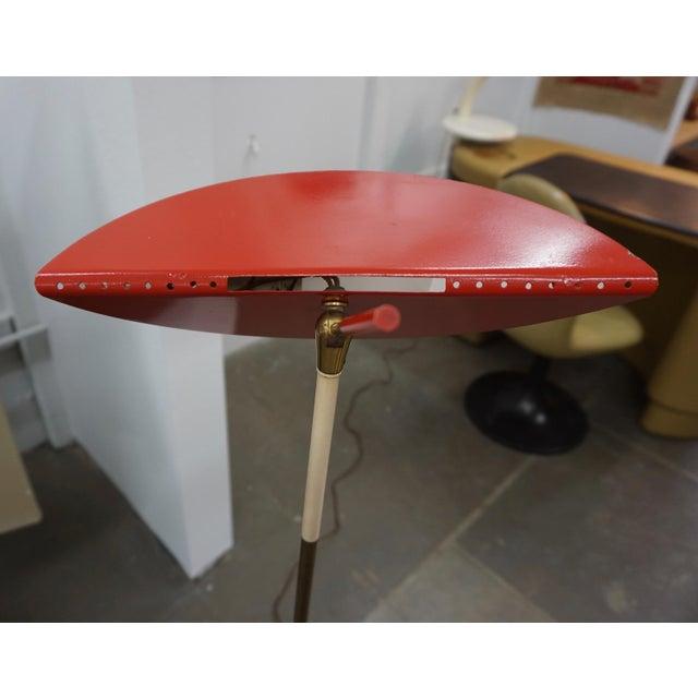 1950s 1950s Mid-Century Modern Italian Floor Lamp For Sale - Image 5 of 9