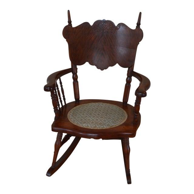 Child's Antique Victorian Rocking Chair - Child's Antique Victorian Rocking Chair Chairish