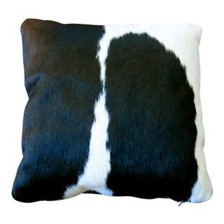 Vintage Brazilian Cowhide Pillow For Sale