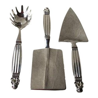 Vintage Silverplate Serving Utensils - Set of 3 For Sale