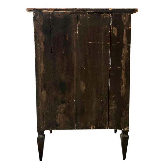 Brown 19th Century Italian Side Cabinet For Sale - Image 8 of 9