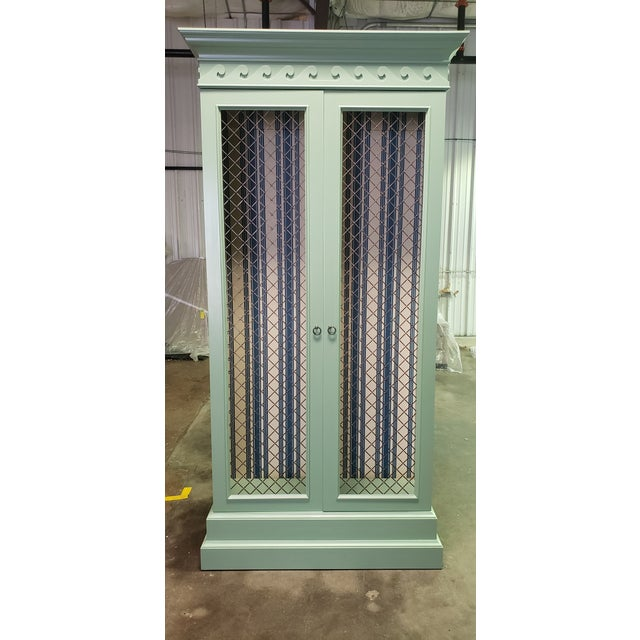 Traditional Green Painted Bookcase For Sale In Dallas - Image 6 of 8