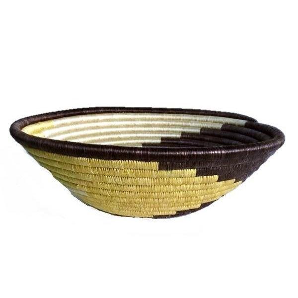 African Boho Woven Basket - Image 2 of 6