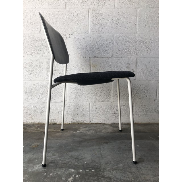 Metal Preowned Hay Iskos-Berlin's Soft Edge Stackable Chairs -Set of Four For Sale - Image 7 of 13