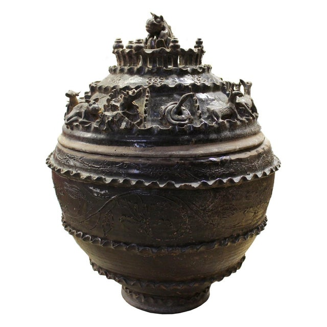 Han Dynasty-Style Ceremonial Jar - Image 1 of 10