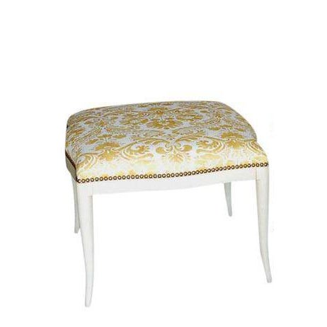 Paul Marra Design Klismos Ottoman - Image 4 of 4