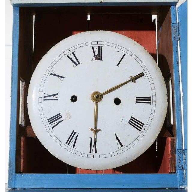 Early 19th Century Vintage Mora Clock For Sale - Image 4 of 5