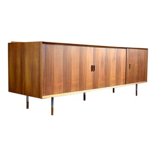 Rare Arne Vodder Danish Walnut Stereo Cabinet, Sibast Møbler 1950s For Sale