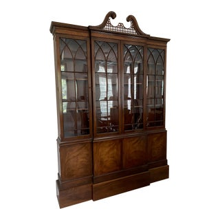 Vintage Baker Display Cabinet For Sale