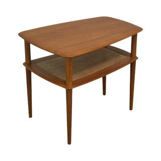 Peter Huldt for France and Sons Teak Danish Modern 2 Tier Side Table For Sale