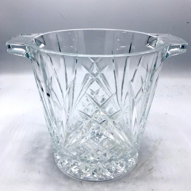 Mid-Century Cut Lead Crystal Ice Bucket / Champagne Cooler - Image 5 of 5