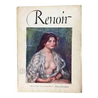 1950s Vintage Renoir Abrams, NY Lithographic Prints Portfolio For Sale