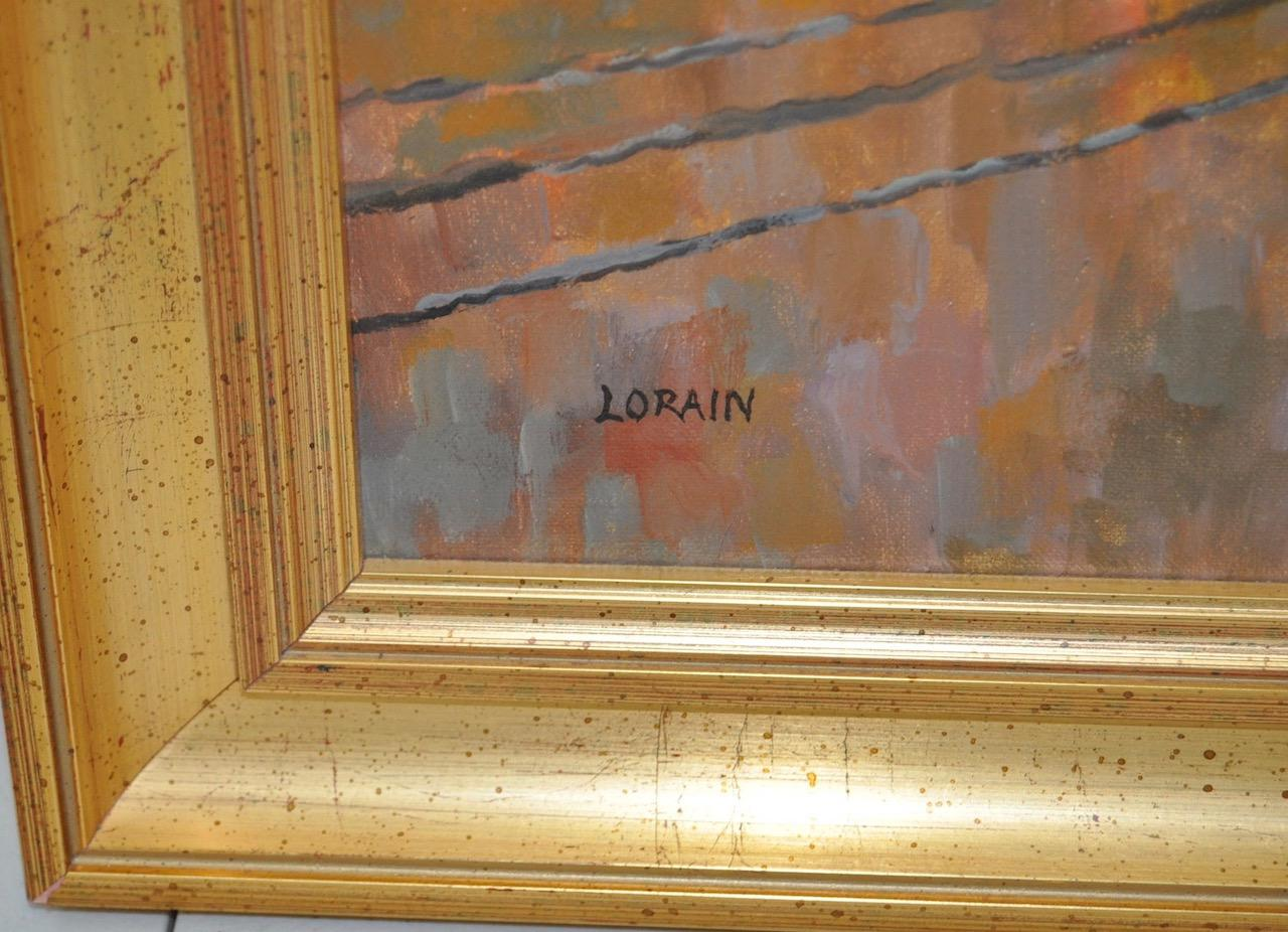 San Francisco Oil Painting By Lorain Archibald Garner C.1950   Image 4 Of 8