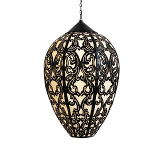 Metal Work Tulip Lantern For Sale