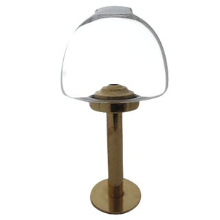 Hans-Agne Jakobsson Mid-Century Brass Oil Lamp For Sale