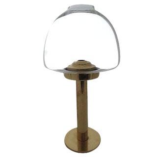 Hans-Agne Jakobsson Mid-Century Brass Oil Lamp