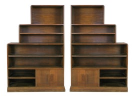 Image of Art Deco Bookcases and Étagères