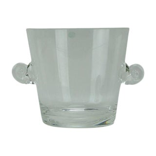 Tiffany & Co. Glass Ice Bucket