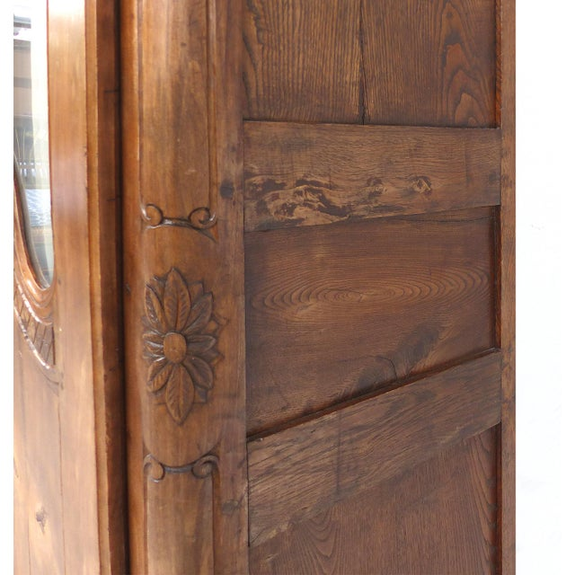 Antique French Provincial Style Armoire - Image 7 of 11