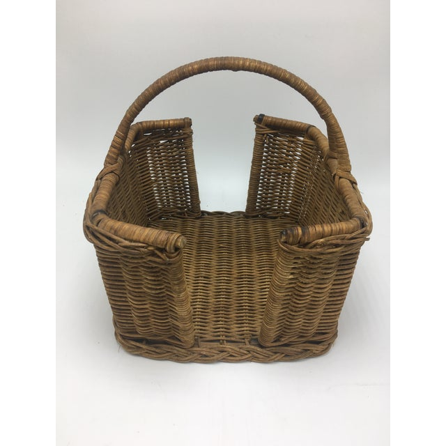 This lovely vintage basket is perfect for a napkin holder! Or anything that you want to use it for, it adds a great...