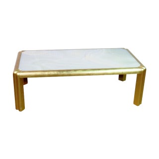 Mid Century Hollywood Regency Style Coffee Table For Sale