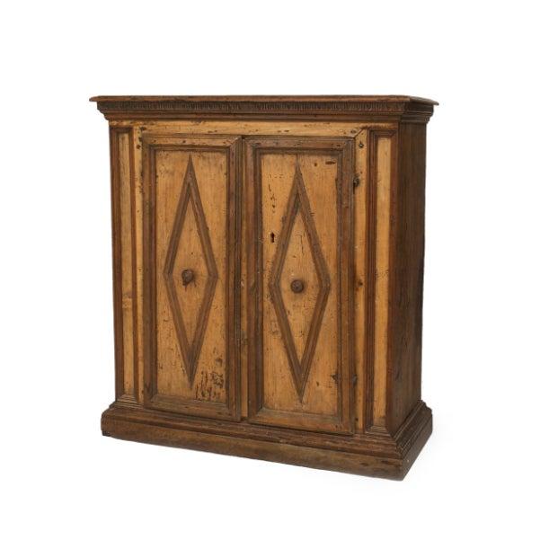 Renaissance Italian Renaissance Walnut Cabinet For Sale - Image 3 of 3