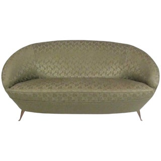 Italian Modern Sofa in the Style of Ico Parisi For Sale