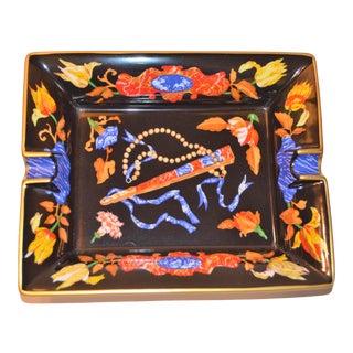 """Hermes """"Marqueteries De Pierres d'Orient Et d'Occident Pattern Porcelain Tray For Sale"""