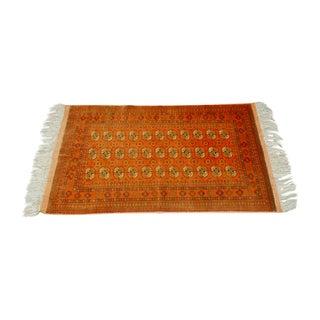"Vintage Turkoman Tekeh Rug - 4'1"" X 6'9"" For Sale"