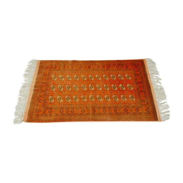 """Vintage Turkoman Tekeh Rug - 4'1"""" X 6'9"""" - Image 1 of 5"""