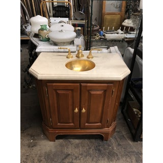 Sherle Wagner Petite Vanity With Sink Preview