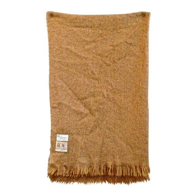 Scottish Mohair Throw For Sale