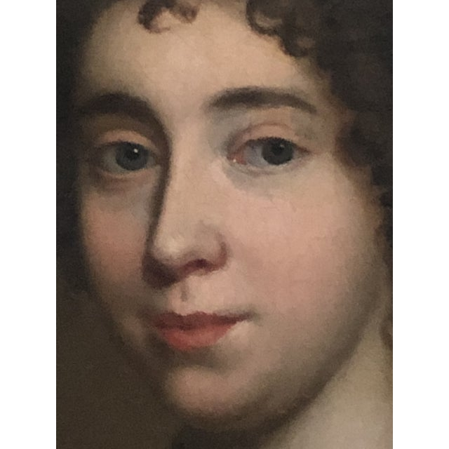 17th Century Oil on Canvas of Nobel Lady attributed to the Circle of Sir Peter Lely (1618-1680). The 19th C Frame is...