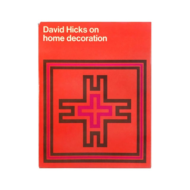"""Mid-Century Modern """"David Hicks on Home Decoration"""" First Edition Design Book For Sale - Image 3 of 3"""