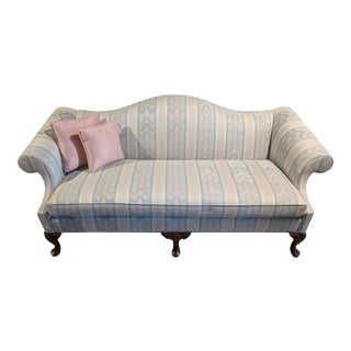 Queen Anne Style Sofa For Sale
