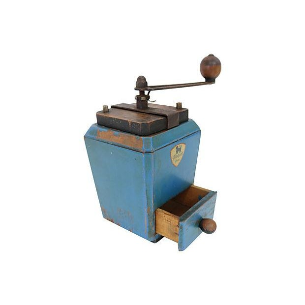 Vintage French Peugeot Le Ric Coffee Grinder - Image 3 of 4