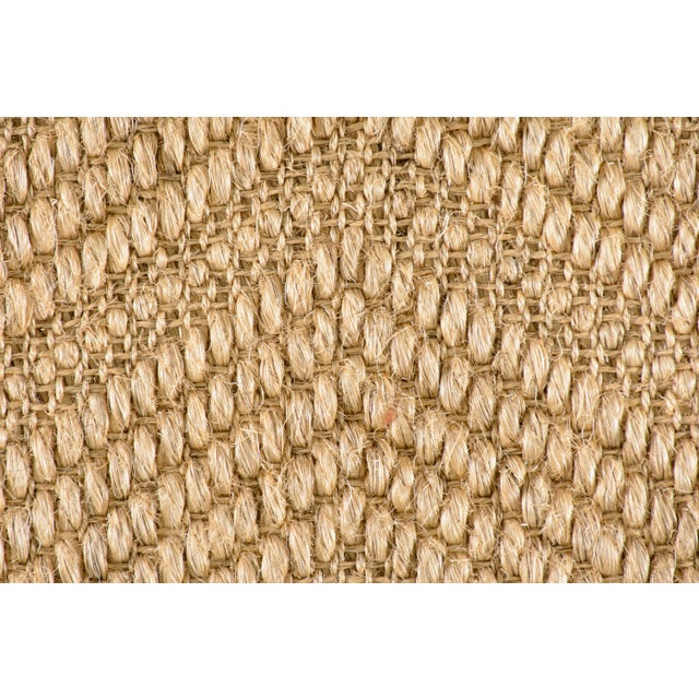 Made of 100% sisal. Due to the unique nature of the item, all sales are final. This item is not eligible for the standard...