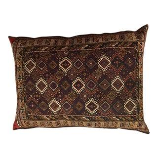 Oversized Persian Kelim Floor Pillow For Sale