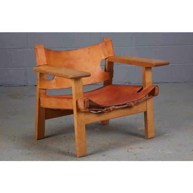 børge mogensen for fredericia furniture spanish chair chairish